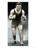 Portrait of the German Boxer Max Schmeling
