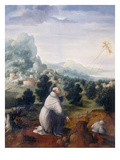 St Francis Receiving the Stigmata  Palatine Gallery  Florence