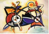 Combo Tableau sur toile par Alfred Gockel