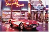 Corvette 1958 Tableau sur toile
