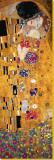 Le baiser (détail) Tableau sur toile par Gustav Klimt