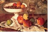 Natures mortes Tableau sur toile par Paul Cézanne