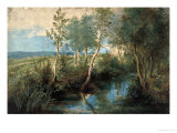 Landscape with Stream Overhung with Trees  1637-1640