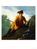 Hunter Sitting at a Fountain 1786-87