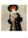 Portrait of a Woman with Black Hat (Gertrude Schiele)  1909