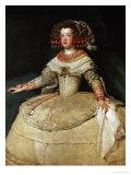 Maria Teresa (1638-1683)  Infanta  Daughter of King Philip IV of Spain and His Wife  Isabella  1653