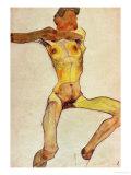 Male Nude  Yellow  1910