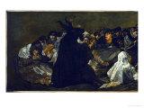 Witches' Sabbath (Aquellare)  Detail