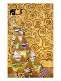 Expectation, Stoclet Frieze, c.1909 Giclée par Gustav Klimt
