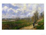 Pathway at Lechou  1878