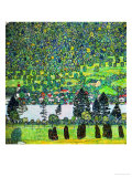 Waldabhang in Unterach Am Attersee, 1917, Slope in a Forest on Atterse-Lake Giclée par Gustav Klimt
