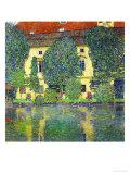 Schloss Kammer Am Attersee III (Wasserschloss), 1910 Giclée par Gustav Klimt