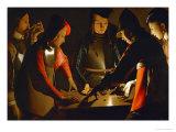 The Dice Players  circa 1650