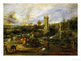 The Tournament (Near the Moat of the Castle of Steen)