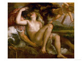 Mars  Venus  and Amor