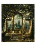 The Medici Gardens in Rome  1650-1651