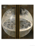 Garden of Delights, Closed Wings: The Creation of the World, Triptich with Shutters Giclée par Hieronymus Bosch