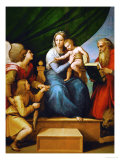 Madonna with a Fish (In the Hand of Young Tobias  Accompanied by the Archangel Raphael)