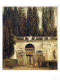 The Medici Gardens in Rome  1650-1651