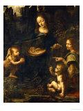 The Madonna of the Rocks Giclée par Leonardo Da Vinci