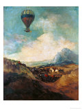 The Balloon  or the Rising of the Montgolfiere