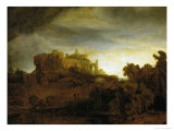 Castle at Twilight  1640