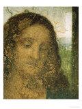Jesus' Head  Detail from Leonardo's Last Supper  1498