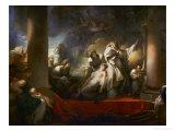 The Grand Priest Coresus Sacrifices Himself to Save Callirhoe (Pausanias  VII  21)