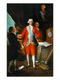 Don Jose Monino  Count Floridablanca (1728-1808)  Painted Around 1783