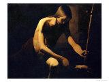 Saint John the Baptist in the Wilderness  circa 1645-1650