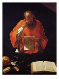 Saint Jerome Reading  Copy of a Lost Original