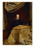 Philip IV of Spain (1621-1665)  Praying