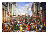 The Wedding at Cana (Post-Restoration) Giclée par Paolo Veronese