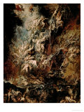The Fall of the Damned Giclée par Peter Paul Rubens