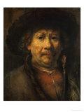 The Small Self-Portrait  circa 1657