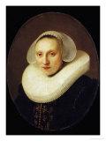 Cornelia Pronck  Wife of Albert Cuyper  Merchant  Aged 33  Painted 1633