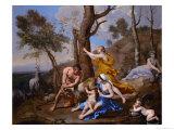 Jupiter's Nourishment  1636-1637