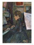 Mademoiselle  Dihau at the Piano  1890