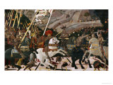 The Battle of San Romano in 1432 Giclée par Paolo Uccello