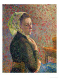 Woman with a Green Scarf  1893