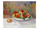 Pêches Giclée par Pierre-Auguste Renoir