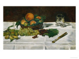 Still Life: Fruit on a Table  1864