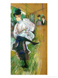 Jane Avril Dancing  1891