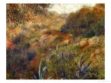 Algerian Landscape, the Gorge of the Femme Sauvage, 1881 Giclée par Pierre-Auguste Renoir