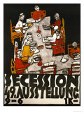 Sezessionsplakat 1918  Poster for the 49th Secession Exhibition by the Neukunstgruppe  Austria