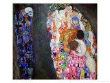 Life and Death (Tod Und Leben) Giclée par Gustav Klimt