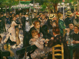 Dance at the Moulin De La Galette, 1876 Giclée par Pierre-Auguste Renoir