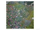 Italian Garden Landscape, 1917 Giclée par Gustav Klimt