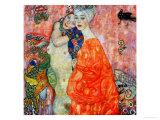 Girlfriends, 1916-1917 Giclée par Gustav Klimt