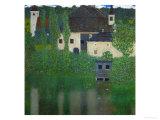 Unterach Manor on the Attersee Lake, Austria, 1915-1916 Giclée par Gustav Klimt